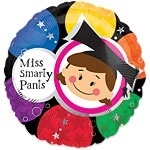 Miss Smarty Pants  Folie Ballon