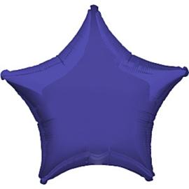 Folieballon ster paars