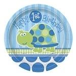 Turtle 1st Birthday Dessertborden