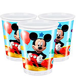 Playful Mickey Mouse Bekers