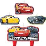 Disney Cars 3 Kaarsjes