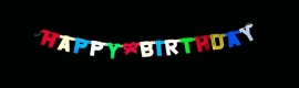 "Letterslinger ""Happy Birthday"""