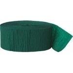 Crepe Streamer Donker Groen