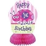Ladybug 1st Birthday Mini Centerpiece