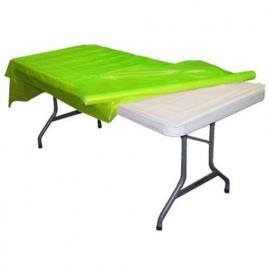 Plastic tafelkleed op rol lime