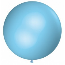 Step In balloon licht blauw