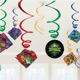 Rise of Teenage Mutant Ninja Turtles Swirls Decorations