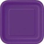 Kartonnen Bord Vierkant Lavendel
