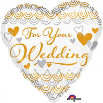 For Your Wedding Foil