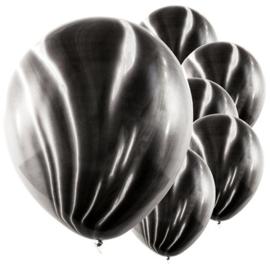 Marmer Ballon Zwart