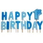 1st Birthday kaarsje