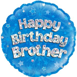 Happy Birthday Brother Foil