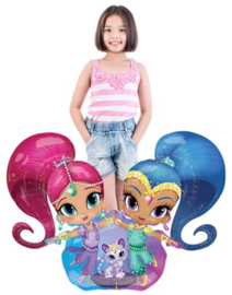 Shimmer & Shine Airwalker Folie Ballon