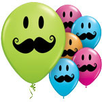 Ballon Smile moutache