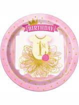 Pink & Gold 1st Birthday Party