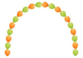 Link-O-Link ballonnenboog