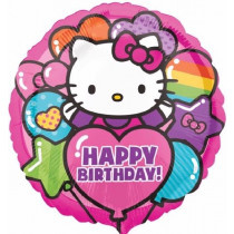 Hello Kitty Rainbow Folie Ballon