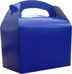 Party box donker blauw