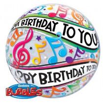 Happy B-day To You Bubble Ballon