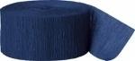 Crepe Streamer Donker Blauw