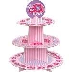 Ladybug 1st Birthday Cupcake Stands