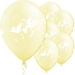 Ballon Love Doves Ivoor
