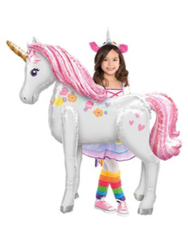 Unicorn Airwalker Folie Ballon