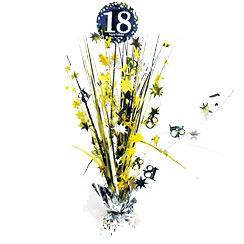 Tafel Centerpiece 18 Gold Sparkling Celebration