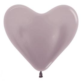 Harten Ballonen Metalic Greige