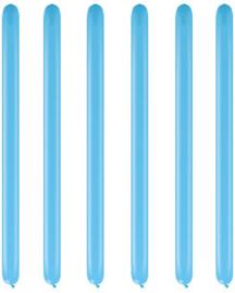 Modelleerballonnen pale blue