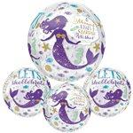 Magical Mermaid Orbz Ballon