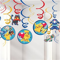 Pokémon Hanging Swirls