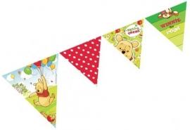Winnie de poeh en piglet  vlaggenlijn