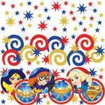 DC Super Hero Girls Tafel Confettie