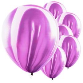 Marmer Ballon Violet