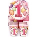 First Birthday Pink Party Pack
