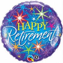 Happy Retirement Folie Ballon