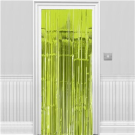 Deurgordijn Lime Groen