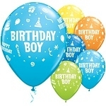Ballonnen happy B-Day boy