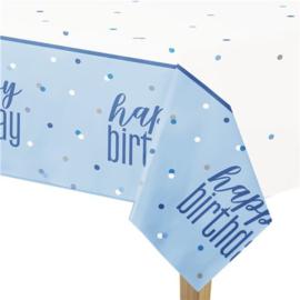 Blue Birthday Glitz Tafelkleed