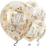 Oh Baby Confettie Ballon