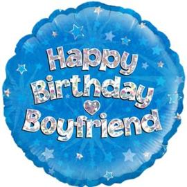 Happy Birthday Boyfriend Foil