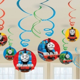 Thomas and Friend Hanging Swirls
