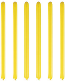 Modelleerballonnen citrine yellow