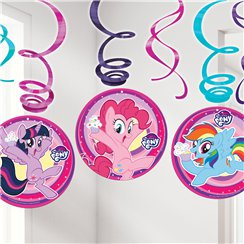 My Little Pony Hanging Swirls