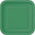 Kartonnen Bord Vierkant Groen