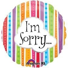 I`m Sorry Folie Ballon