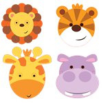 Animal Friends Maskers