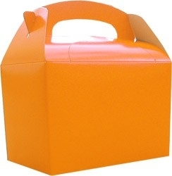 Party box oranje