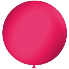 Step In balloon fucshia